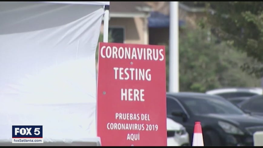 Health experts concerned results from new COVID-19 test aren't included in Georgia case tally