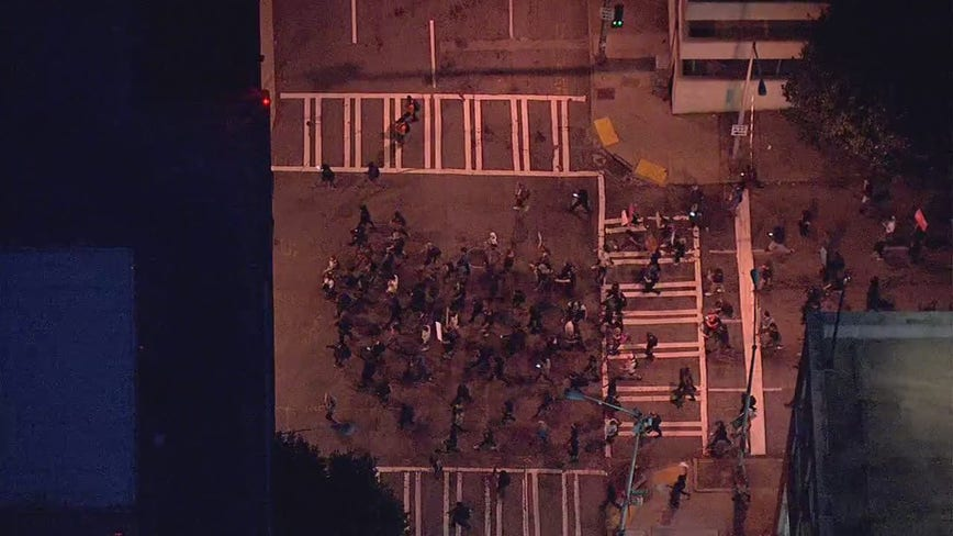 Breonna Taylor Atlanta protest: Demonstrators take to downtown streets