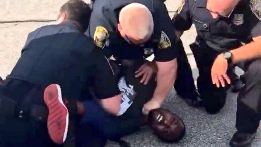 Ex-officer seen choking former NFL player Desmond Marrow pleads guilty