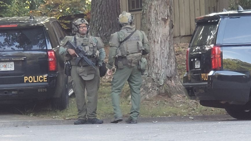 Cobb County man in custody after hours-long standoff with SWAT team