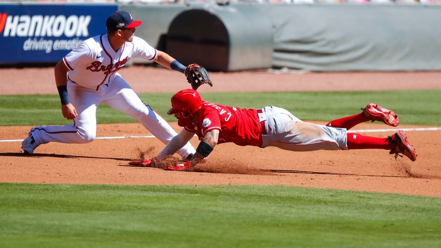 Freddie Freeman delivers walk-off single, Braves beat Reds 1-0