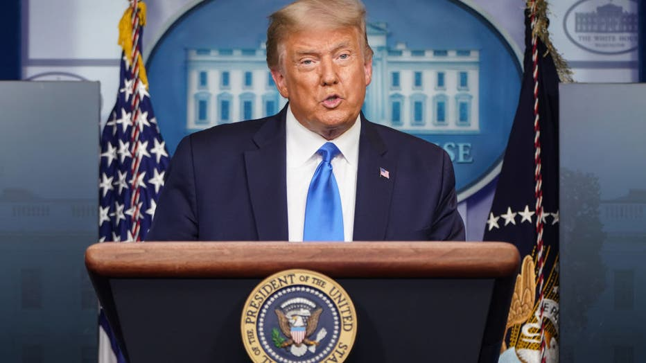 05a93f3a-President Trump Holds A News Conference At The White House