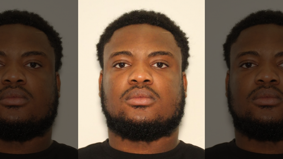 Moses Dyl mugshot (Gwinnett County Police Department).