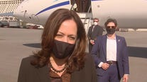 Kamala Harris clarifies Biden's comments on fracking