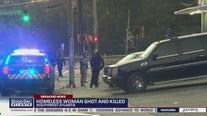Homeless woman shot and killed