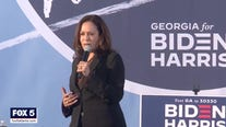 Vice presidential nominee Kamala Harris campaigns in Georgia