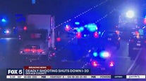Deadly shooting shuts down I-20