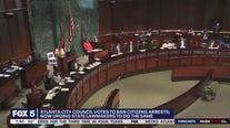 City council votes to ban citizens arrests