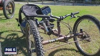 Special bikes help all enjoy mountain biking