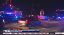GSP pursuit ends in deadly crash