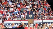 President Trump holds rally in Macon