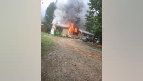 Georgia woman seriously injured in gas explosion, house fire