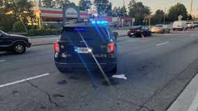 Uber driver shot in suspected road rage incident in Brookhaven
