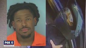 Motorcyclist's arrest caught on camera