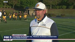 Week 8 Game of the Week Preview: Prince Avenue Christian Head Coach Greg Vandagriff