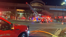 Fire breaks out on roof of UGA student center