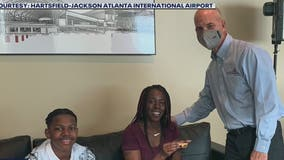 Future pilot gets VIP treatment at world's busiest airport