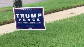 Lake Mary Police blame TikTok challenge for increase in Trump signs stolen