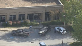 Police: SUV slams into waiting room, miraculously only minor injuries