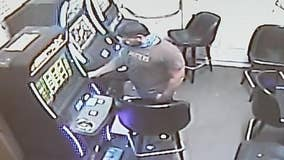Investigators looking for man who's been stealing from gaming machines