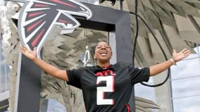 Falcons to honor cancer survivor during first game open to fans