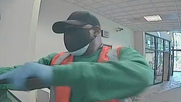 Reward offered in FBI search for armed bank robbery suspect