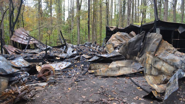 Officials: Habersham County shop fire ruled arson