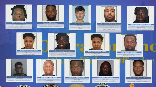 Operation Phoenix: Local, federal law enforcement cracking down on violent offenders in Atlanta