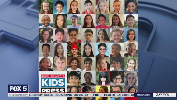 Marietta 8th grader becomes Scholastic Kidskid reporter