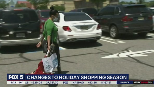 Changes to holiday shopping season