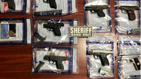 Sheriff: Stolen guns recovered, 6 arrested at Georgia apartments