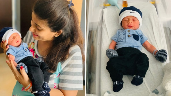 North Texas mom gives birth to healthy baby boy after beating COVID-19