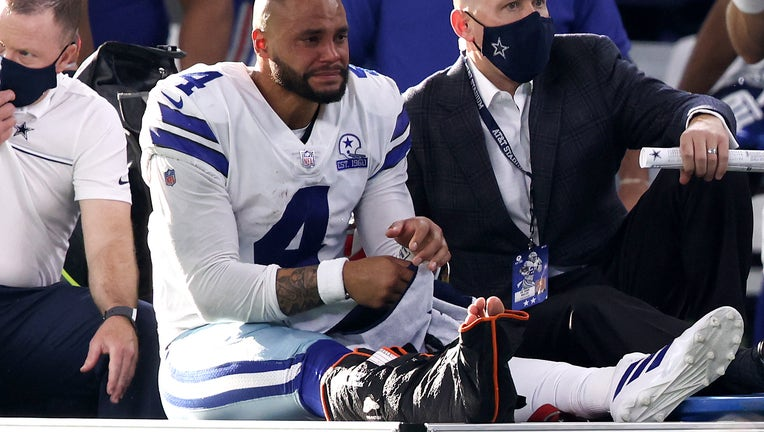 New York Giants v Dallas Cowboys Dak Prescott injury