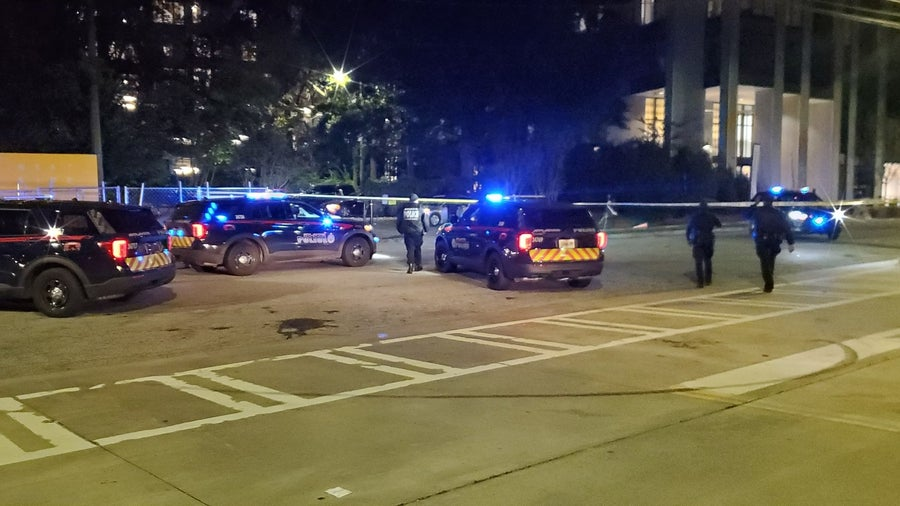 Heavy police presence at apparent shooting scene in NW Atlanta