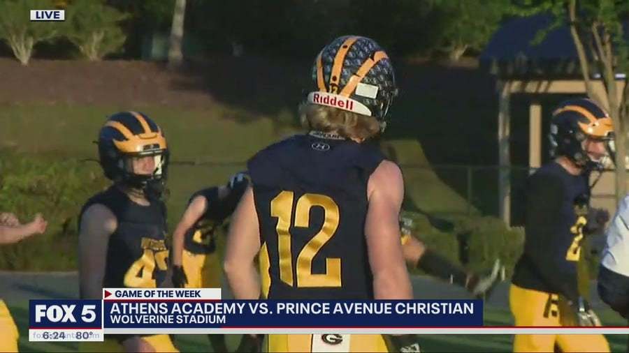 Week 8 Game of the Week Preview: Athens Academy Spartans vs. Prince Avenue Christian