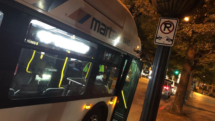 MARTA bus driver and passengers injured in crash, one person arrested