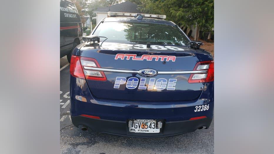 Atlanta Police Department cruiser