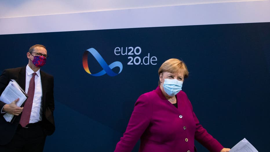Merkel Meets With Governors As Coronavirus Infections Rise