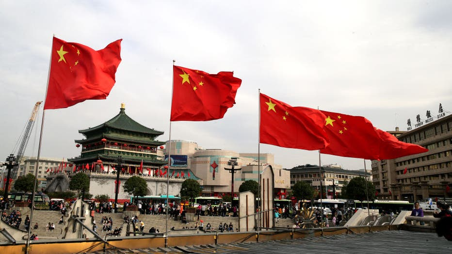 Chinese Celebrate National Day