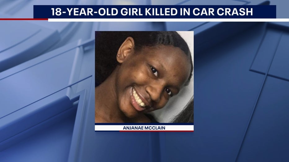 Anjanae McClain, age 18 of Peachtree Corners