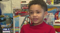 Georgia boy collecting Hot Wheels to donate for Christmas