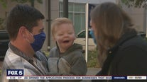 Family celebrates anniversary of son's surgery by helping others