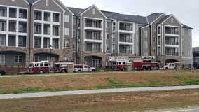 Worker injured in small gas explosion at construction build
