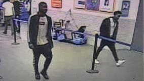 Police search for shoplifting suspects wanted in deadly hit and run