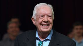 Jimmy Carter congratulates Joe Biden and Kamala Harris on election win