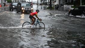 Eta moves offshore after bringing heavy rain to Florida, North Carolina