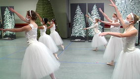 Community comes together for social distance Nutcracker performance