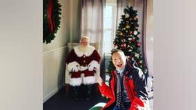 No sitting on Santa's lap, but visits continue at Avalon