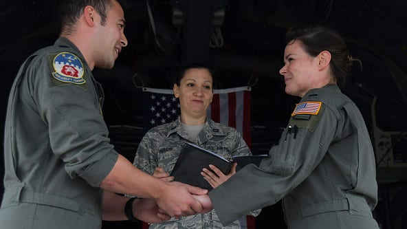 Dobbins aircrew members find 'love at first flight'