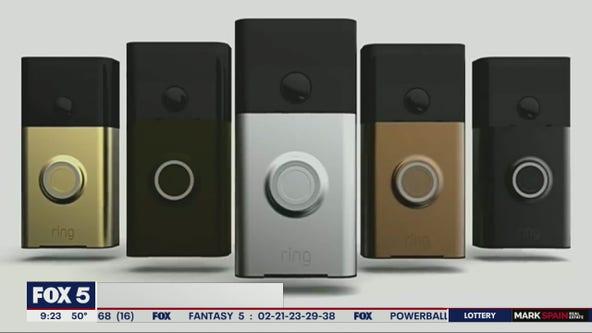 Ring doorbell recall